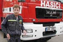 Novým velitelem znojemské požární stanice se stal jednačtyřicetiletý Petr Procházka.