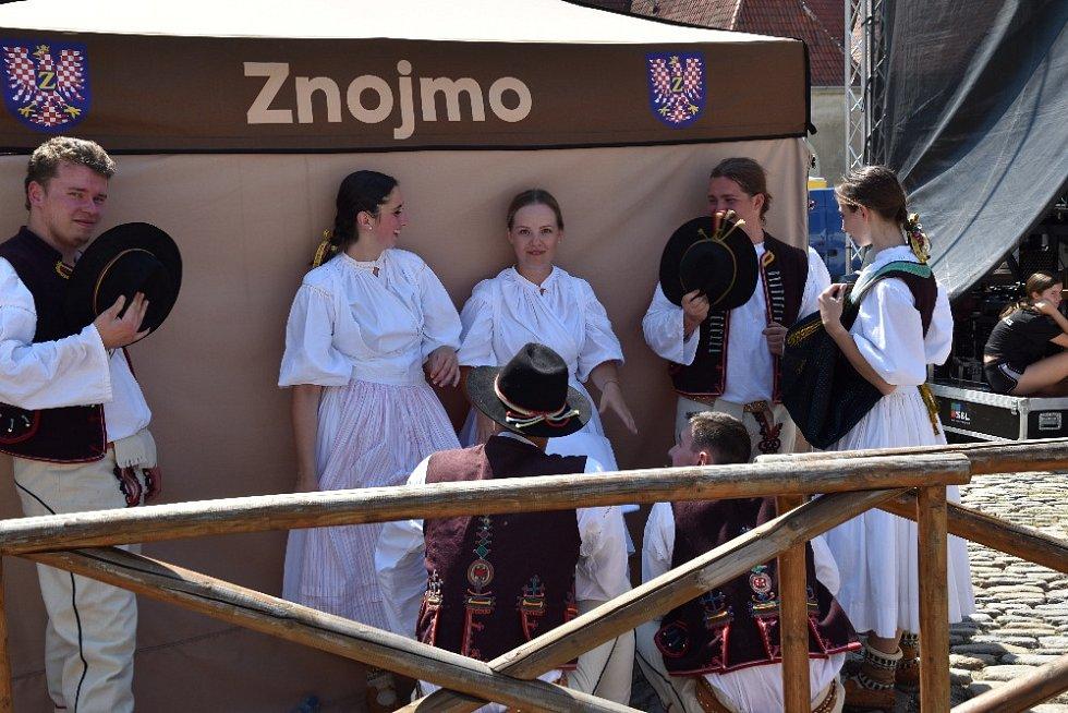 Z tradičních Okrukových slavností ve Znojmě.