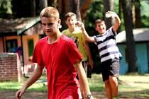 Na sto čytřicet táborníků tráví část prázdnin v Borovině.