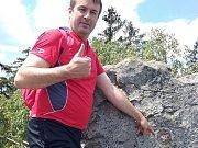Dušan Machourek ušel přes osmatřicet tisíc kilometrů.