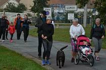 Obyvatelé Lukova na Znojemsku vyrazili na okruh kolem městyse. Přispívali přitom na léčbu ochrnutého Lukáše.