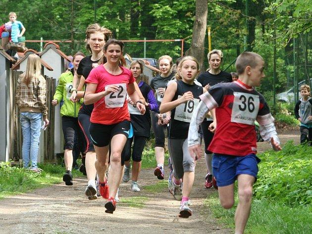 První květnová sobota zavedla běžce do Gránického údolí ve Znojmě.