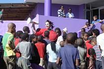 Dagmar Fousková slaví s dětmi Dětský den
