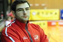 Trenér znojemských florbalistů Libor Šťasta. Archivní snímek z roku 2009.
