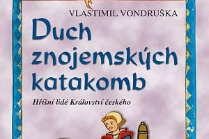 Čtyřiadvacátá kniha ze série historických detektivek Vlastimila Vondrušky se odehrává ve Znojmě.