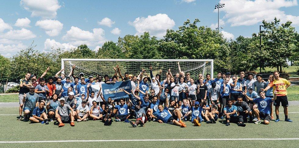 Dohromady se fotbalového kempu v Bostonu zúčastnilo více než 50 lidí.