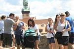 Turisté objevují krásy Znojma.