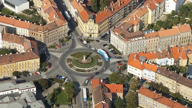 Mariánské náměstí ve Znojmě.