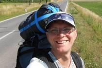 Robert Knebl ze Znojma se příští týden účastní Místrovství ČR v autostopu.