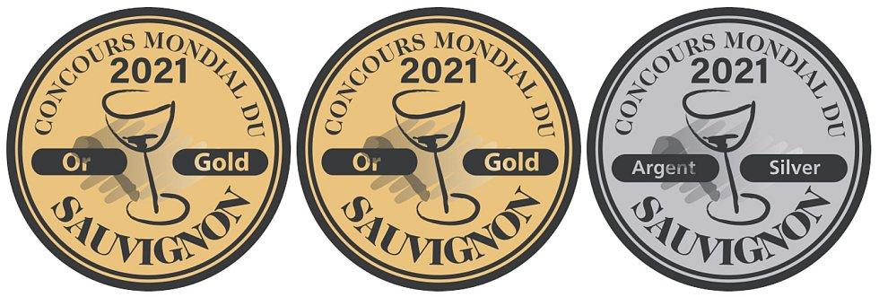 Dvě zlaté a jednu stříbrnou medaily získaly sauvignony Znovínu Znojmo na světové soutěži v Bruselu.