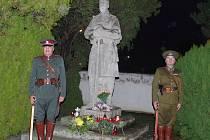 Připomínka konce bojů první světové války na italské frotně, kde bojovaly i pluky ze Znojemska.