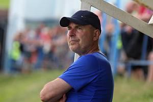 Trenér Tasovic Miroslav Steinhauser.