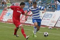 Fotbalisté Znojma vybojovali v zápase s Frýdkem Místkem postup do druhé ligy.