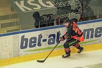 Útočník Hunter Fejes přišel do Znojma z hokejového klubu Graz 99ers. Se soutěží ICEHL už má zkušenosti.