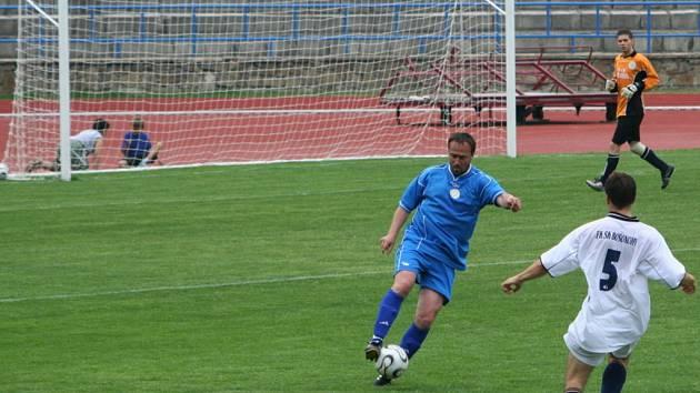 Za B-tým 1.SC Znojmo si zahrál i trenér Michal Sobota