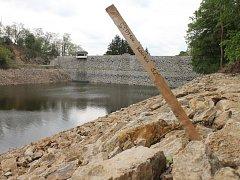 Jevišovická přehrada se po nutných úpravách opět napouští.