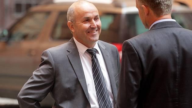 Zemědělec Bohumír Rada, bývalý ředitel podniku Agro Jevišovice.
