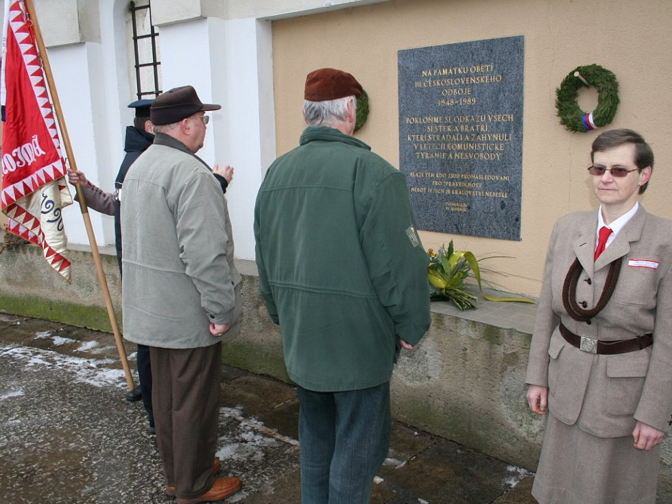 Znojmo uctilo památku politických vězňů