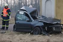 Smrtelná nehoda u Strachotic na Znojemsku.