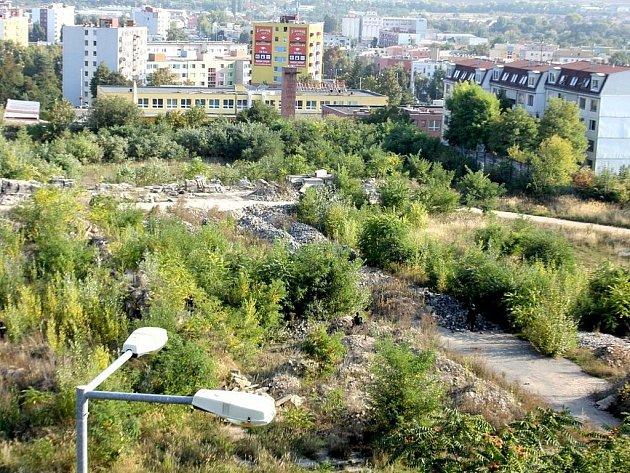 Bývalý vojenský prostor Malá Louka - ilustrační foto.