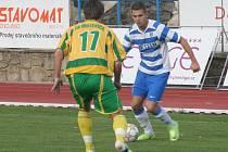 Fotbalisté 1. SC Znojmo mají za sebou vydařené vinařské derby. V zápase proti Mutěnicím zvítězili vysoko 5:0.
