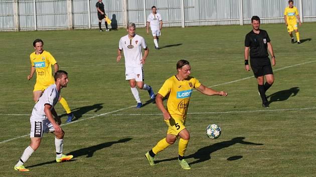 Fotbalisté divizních Tasovic zvládli generálku se Stráním. Porazili ho o gól