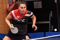 Krumlovské stolní tenistky představily nový mančaft do další sezony. Ruska Ekaterina Chernyavskaya zůstává.