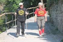 Desítky skupinek turistů vyrazily již na jedenáctý ročník turistického pochodu s názvem Eurovýšlap.