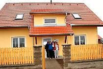 Chráněné byty v Břežanech.