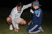 Noční turnaj sehráli golfisté v Těšeticích.