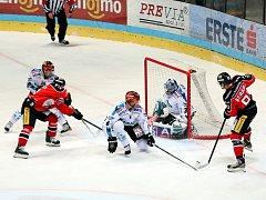 Znojemští Orli přivítali na domácím ledě soupeře z Linze.