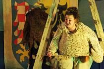Divadlo Klauniky přijelo do Jevišovic s představením Don Quijote de la Ancha