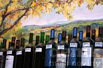 Degustace vín. Ilustrační foto.
