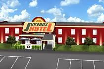 Hotel Jubox v Hatích.