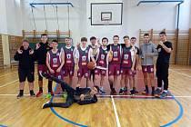 Basketbalisté z Přímky postoupili do kraje. Foto: archiv školy