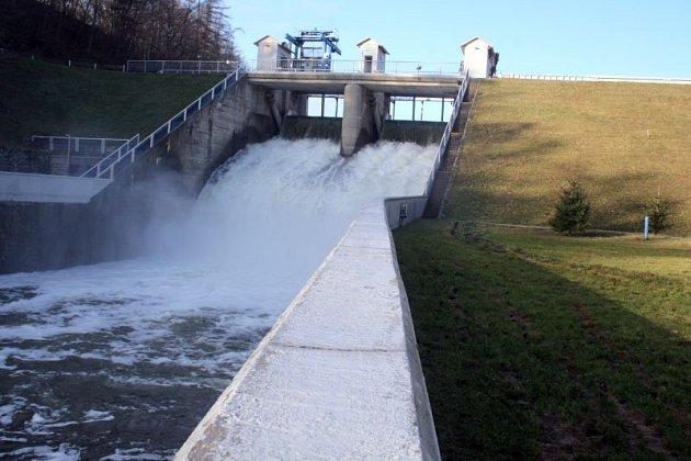 Dyjí teče už několik dní trojnásobné množství vody, než je dlouhodobý průměr.