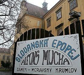 Slovanská epopej Alfonse Muchy - ilustrační fotografie.
