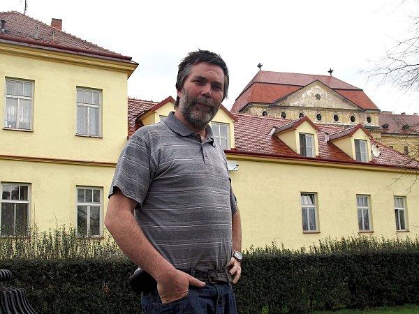 Strahovský premonstrát Marian Husek.