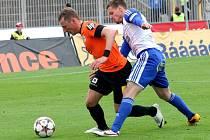 Poslední domácí zápas v Brně hrají fotbalisté Znojma. Na Srbské hrají se čtvrtým Libercem.