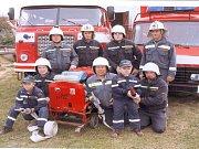 Dobrovolní hasiči ze Šatova.