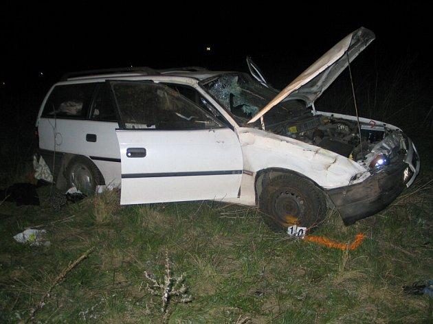 Opily řidič zavinil u Hrabětic smrtelnou nehodu