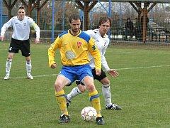 Fotbalisté Tasovic se proti Vrchovině nedokáží prosadit. Nepříznivou bilanci ale chtějí změnit.