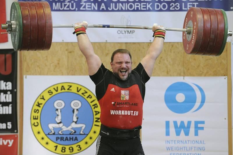 Jiří Orság na mistrovství České republiky.