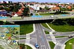 Stavba mostu na obchvatu Znojma uzavře silnici do Přímětic.