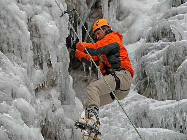 Lezec a horolezec Petr Halbrštat