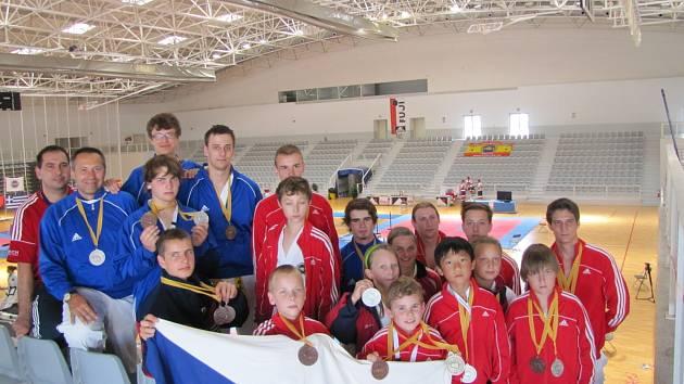 Znojemští taekwondisté uspěli na mistrovství Evropy v Barceloně.