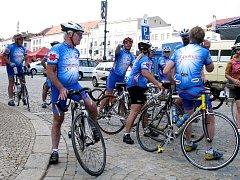 Ilustrační foto cykloturistika Znojmo