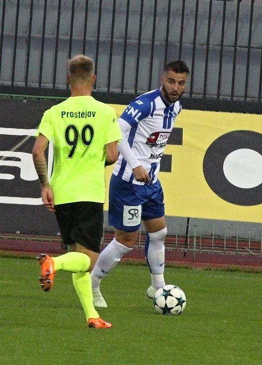 Znojmo se proti Prostějovu střelecky neprosadilo, zatímco hosté jednou. Domácí tak prohráli 0:1.