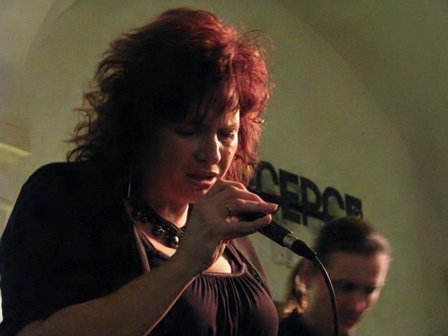 Elena Sonenshine Suchánková na jazzovém festivalu ve Znojmě