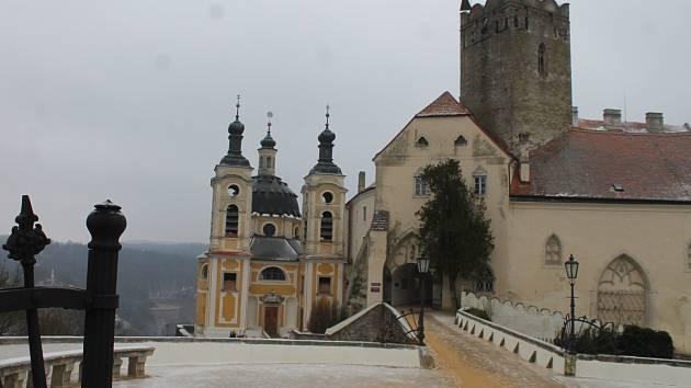 Přípravy na blížící se turistickou sezonu již zaměstnávají kastelánku ve Vranově nad Dyjí.